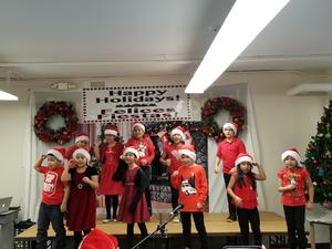 holiday show singers