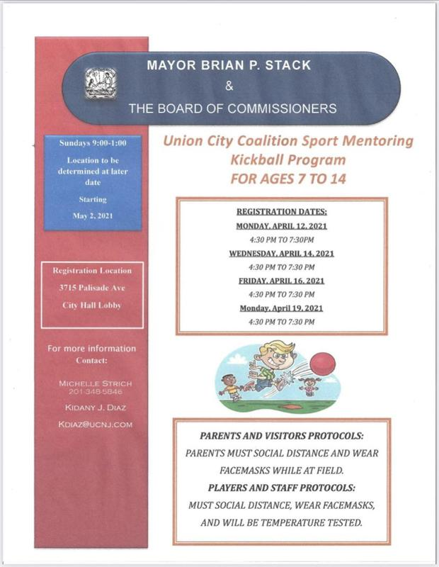 Kickball program flyer in English