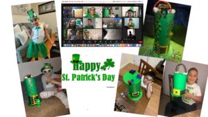 Leprechaun hat collage