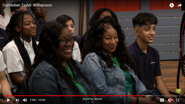 Students part of Great Day Houston audience Featured Photo