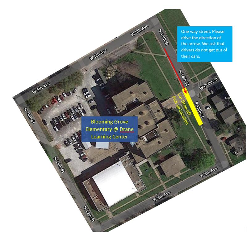 Car Line at Drane Learning Center Thumbnail Image
