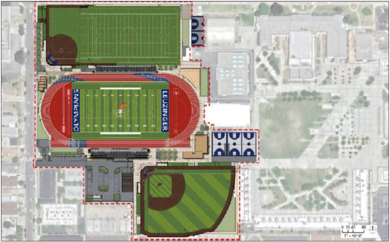 Leuzinger High School Athletic Facilities Improvements Project Featured Photo
