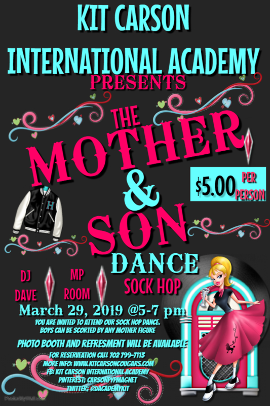 The Mother & Son Dance / Sock Hop Thumbnail Image