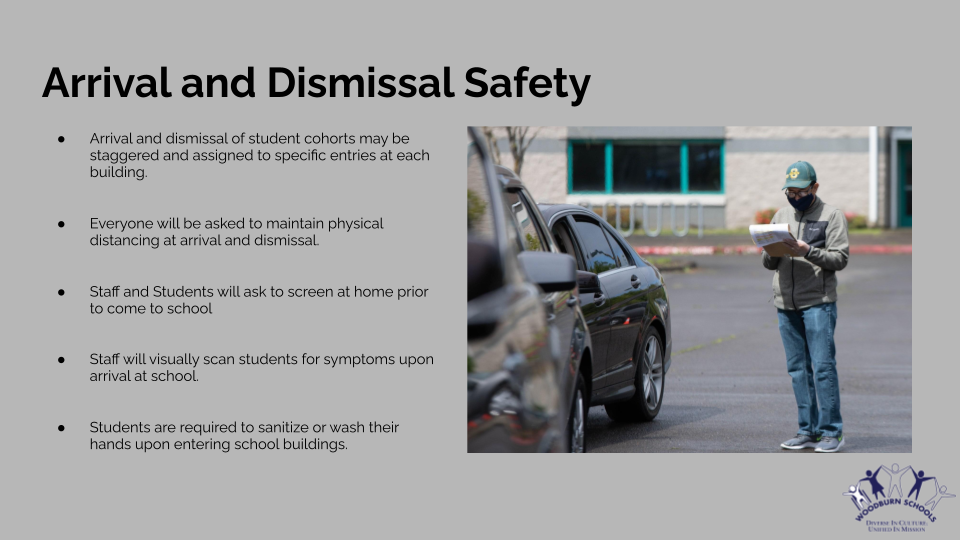 Arrival and Dismissal Safety