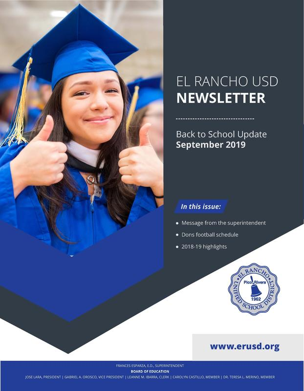 District Newsletter Cover Page