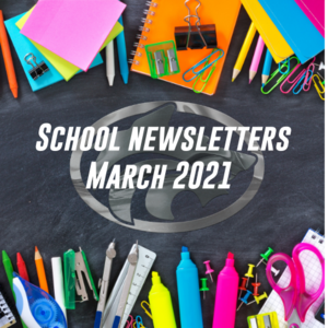 School newsletters March 2021
