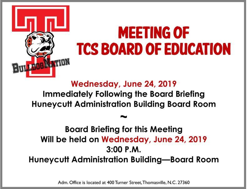 June 24th BOE Meeting
