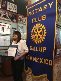 January Rotary Club Student of the Month Featured Photo