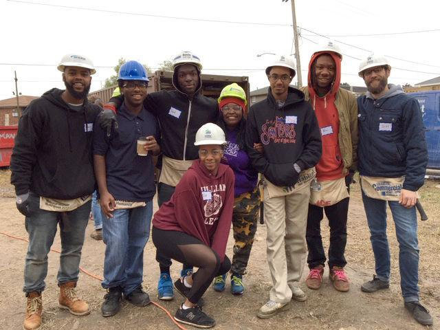 "SciHigh participates in The ""Banga Build"" benefitting Habitat for Humanity. Thumbnail Image"