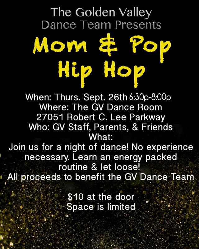 Mom & Pop Hip Hop Dance Fundraiser Featured Photo