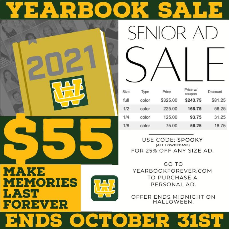 2021 WCHS Yearbooks and Senior Ads Thumbnail Image