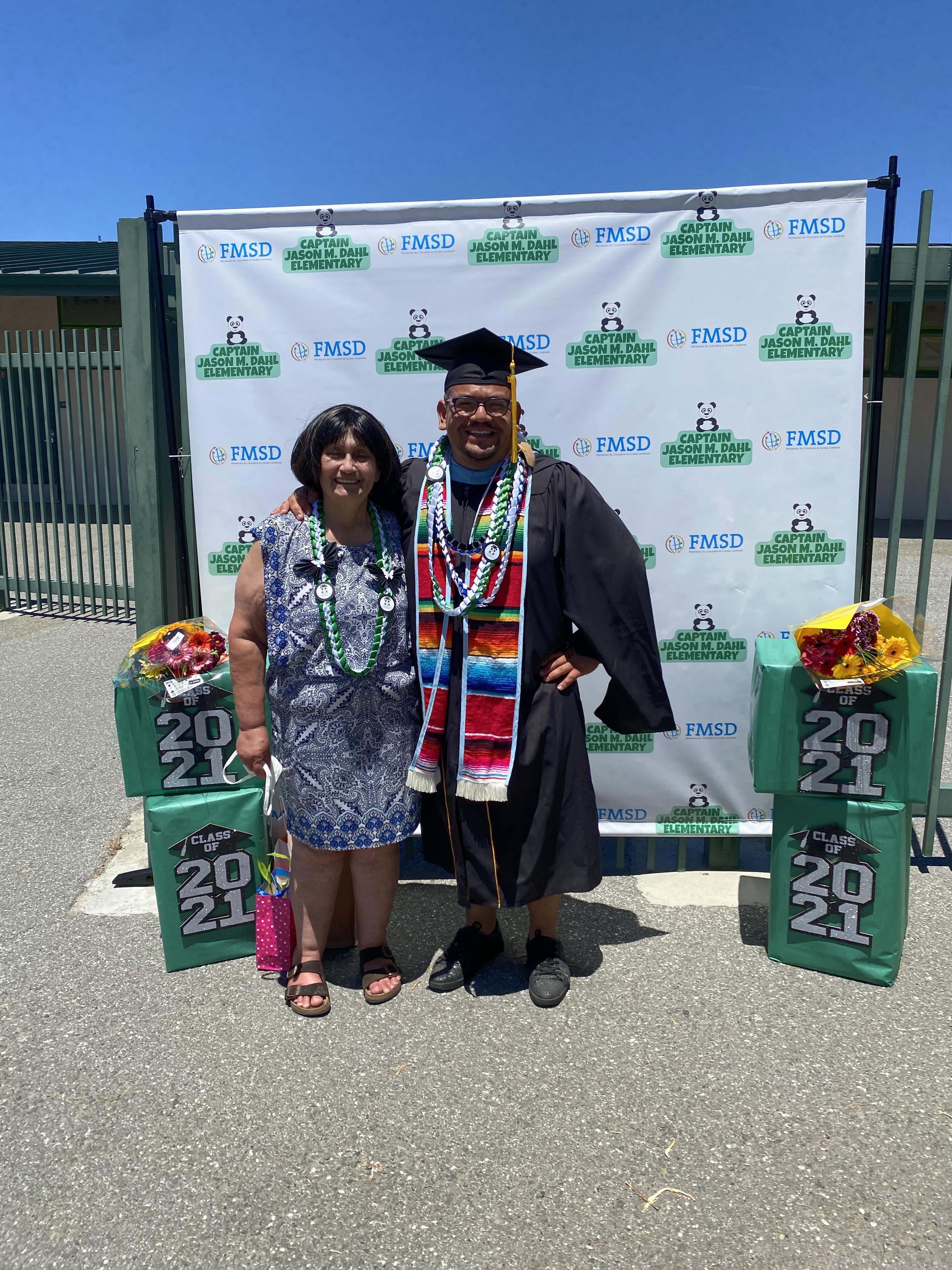 Mrs. Sumida and Mr. Quiroz