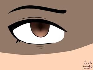 Eye digital drawing