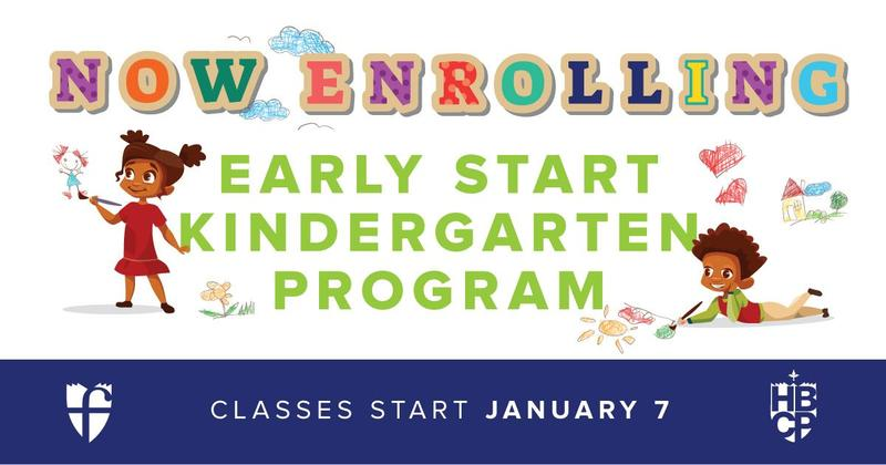 Early Start Kindergarten Program Flyer