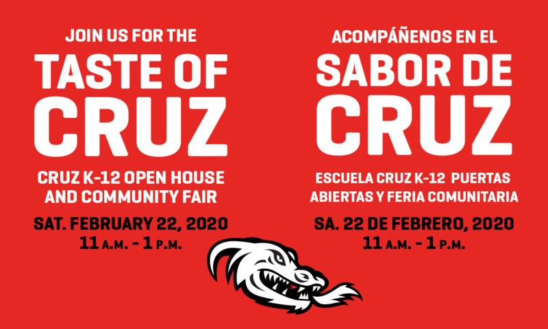 Cruz Flyer Reminder