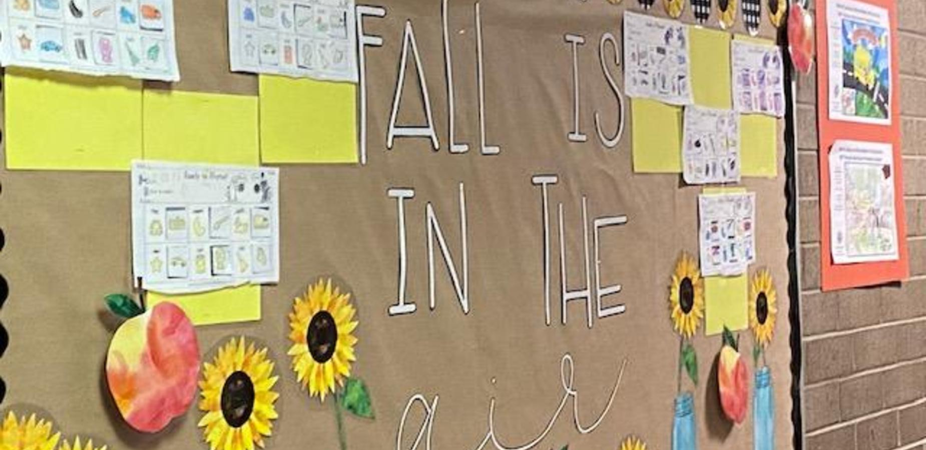 Fall is in the Air  Bulletin Board