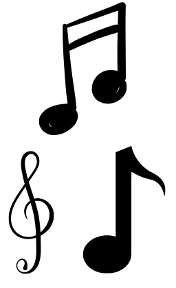 picture of musical notes