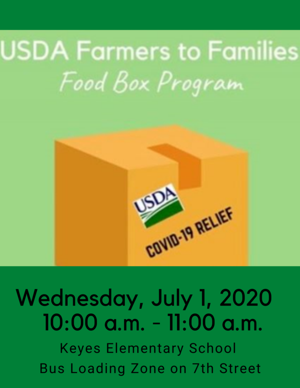 RETURN OF USDA Farmers to Families Food Box Program Featured Photo