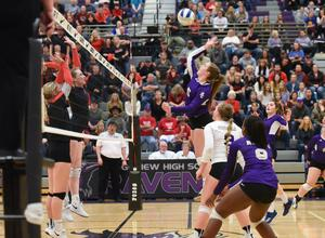 Volleyball 2018 State Championship game