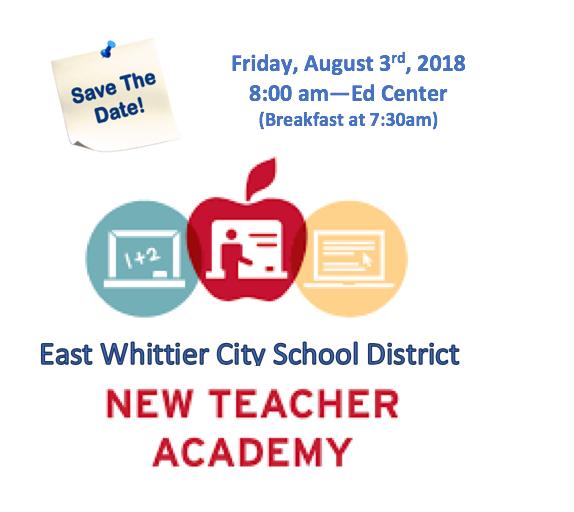 18-19 NEW TEACHER ACADEMY