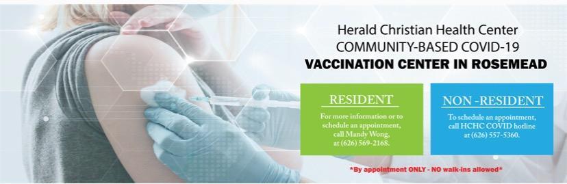 Herald Christian Health Center - Community Based COVID-19 Vaccine Center