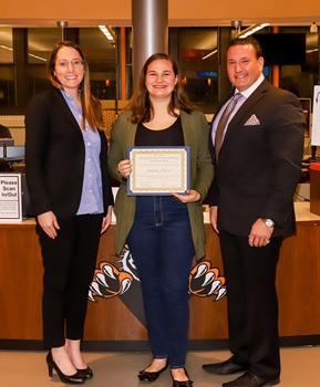 Hackettstown Middle School Student of the Month - December 2019 - Autumn Hoover