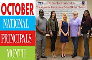 October National Principals Month