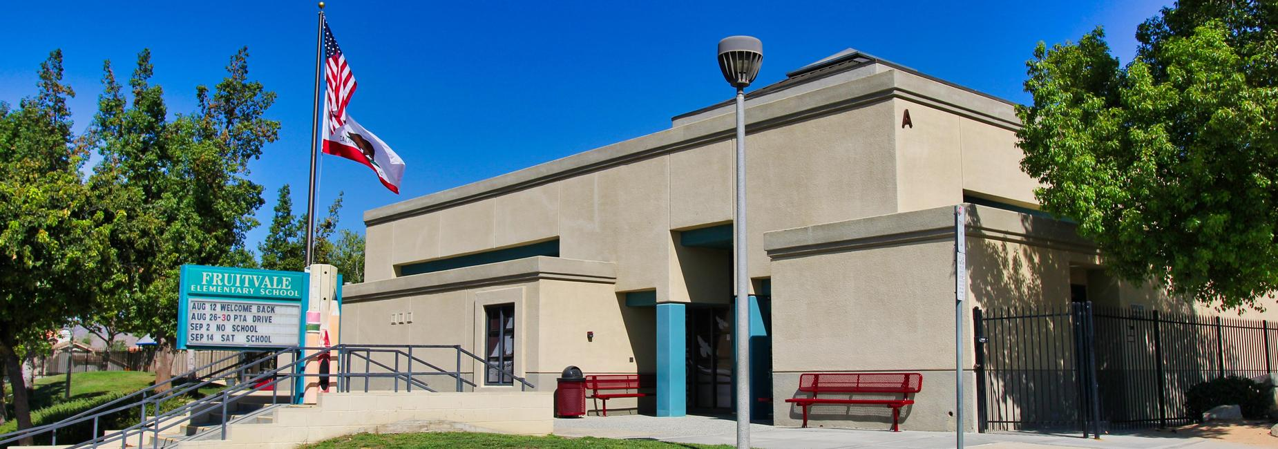 Fruitvale Elementary school entrance