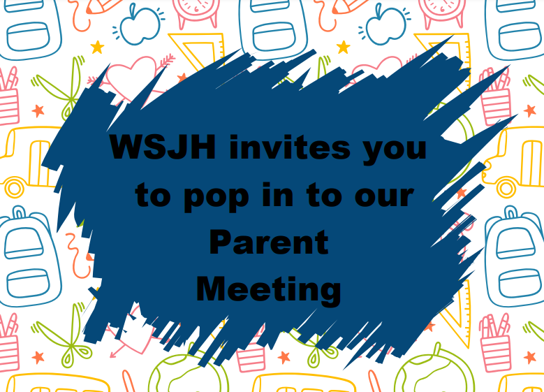 Pop in Parent Meeting