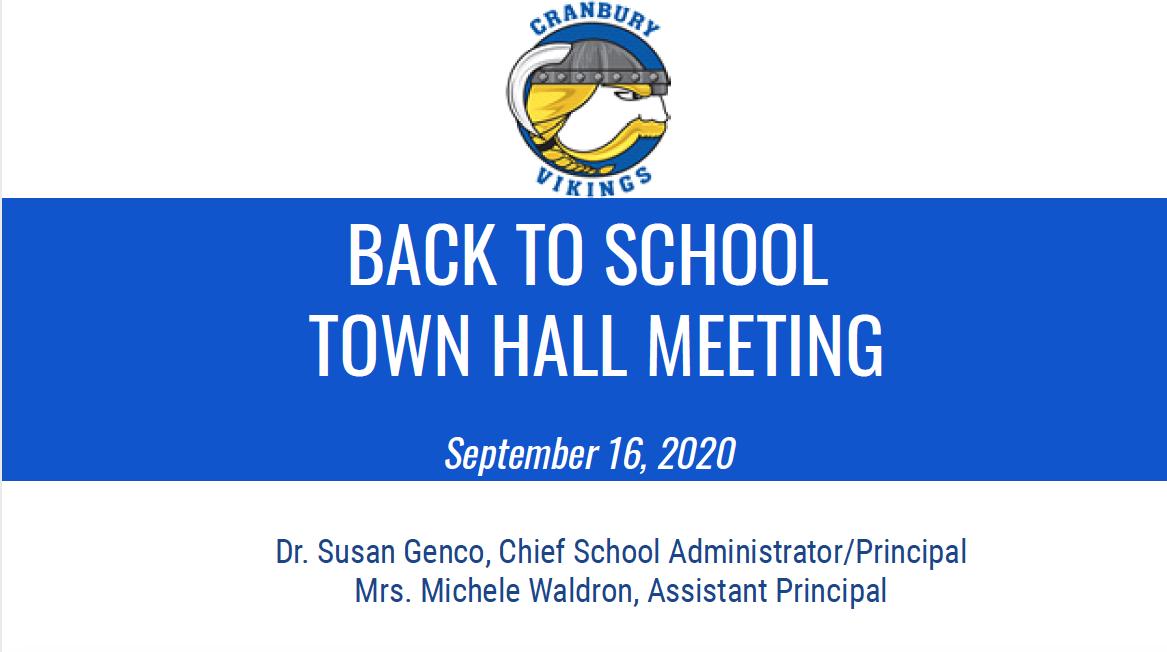9-16-20 Town Hall Parent Presentation