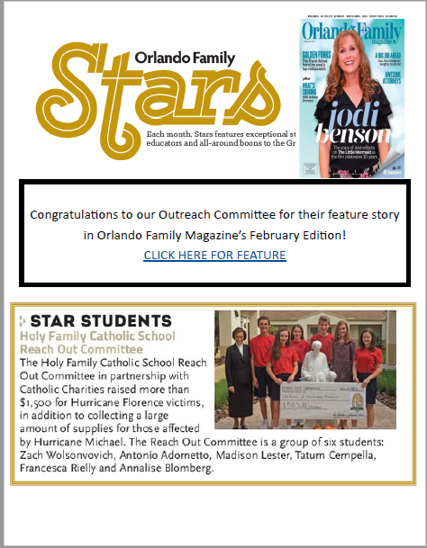 HFCS Reach Out Committee Making A Difference & Headlines Featured Photo