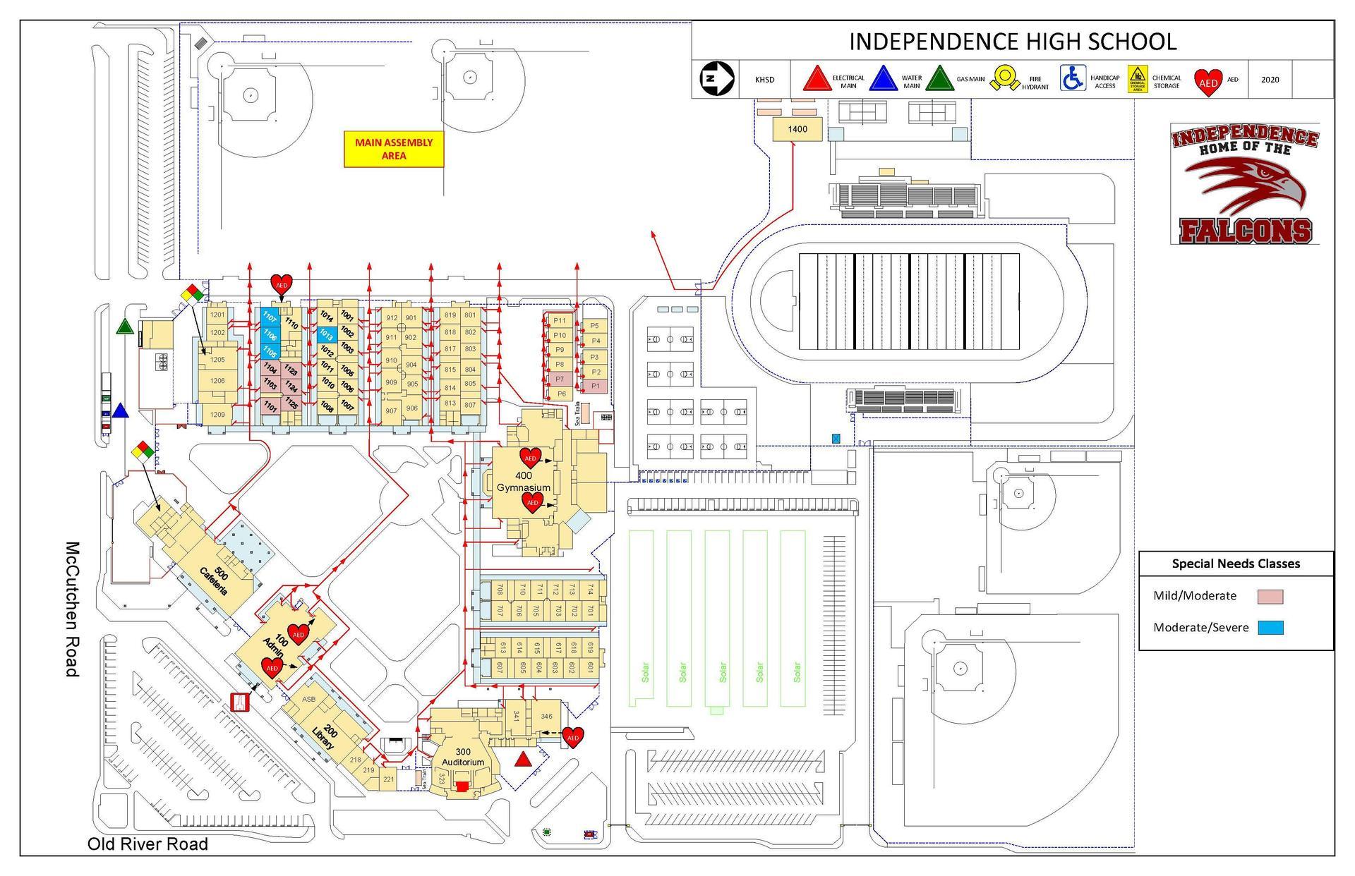 School Map 2021