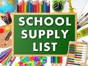 2021-2022 School Supply List for La Vega Junior High School George Dixon Campus Students Thumbnail Image
