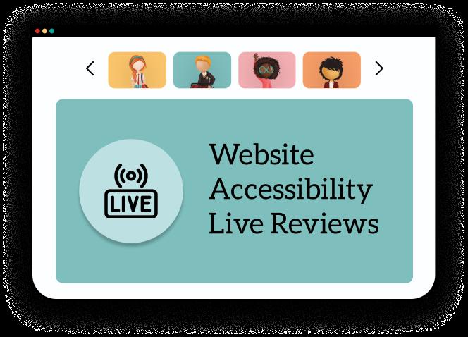 Website Accessibility Live Reviews webinar video