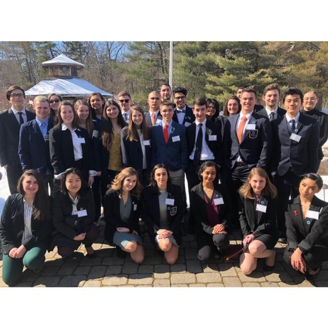 Group photo of NHS DECA