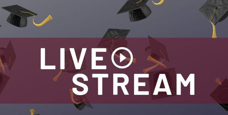 Live Stream Graduation Image