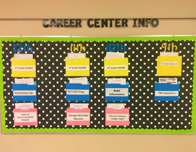 Career Center Info.