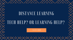 distance learning tech help or learning