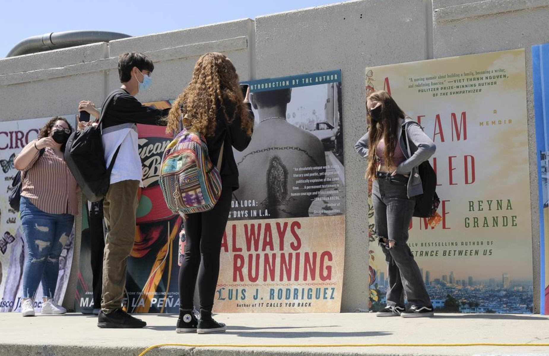GHS kicked off its literacy campaign, Cafecito con Libros - Over 1,100 students signed up to participate in a month-long (Hispanic Heritage) reading program! #Proud2bepusd @ghscafecitoconlibros http://edl.io/n1496771