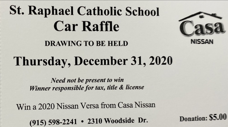 School Car Raffle Featured Photo