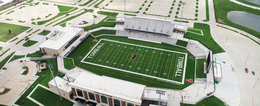 Stadium drone