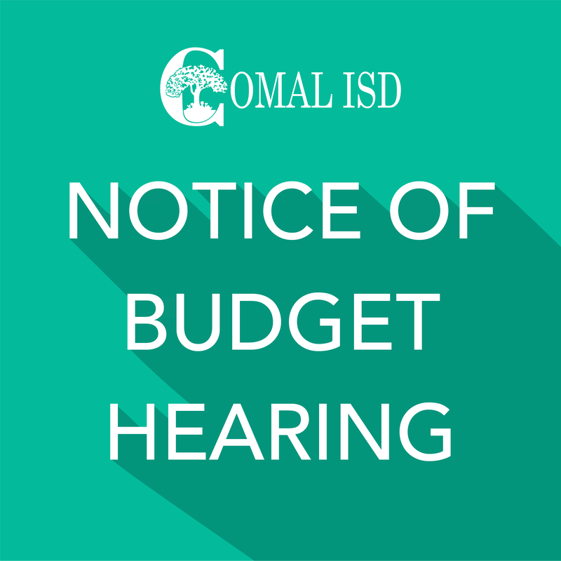 Budget Meeting Notice