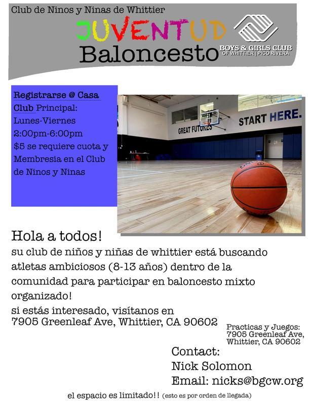 Youth Basketball - Span