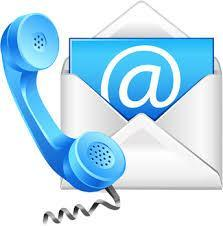 Phone and email logo