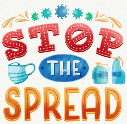 Stop the Spread of the Coronavirus Germs Featured Photo