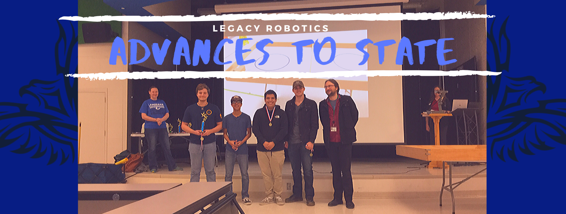 Robotics Team Advances to State competition