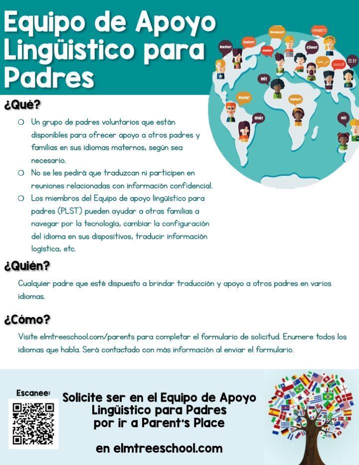 Parent support team (en espanol)