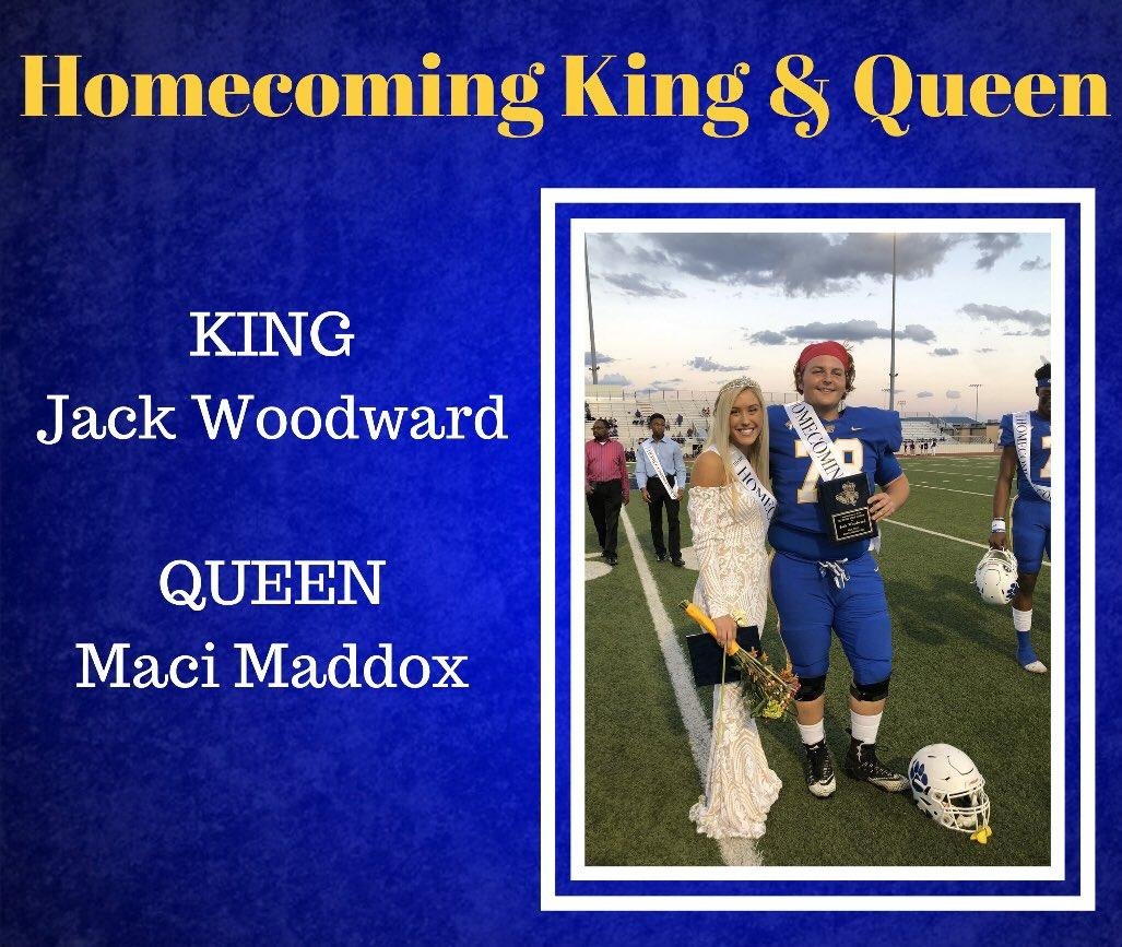 HOCO King and Queen