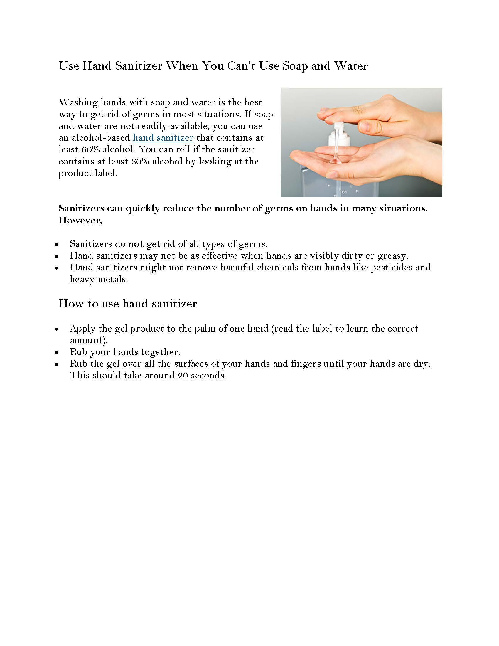 Hand Washing 2