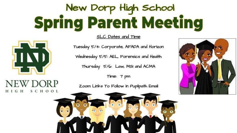 Spring Senior Parent Meeting
